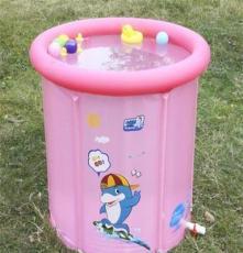 工厂批发博士豚婴儿游泳池 充气游泳池 游泳池 送脖圈DD02501