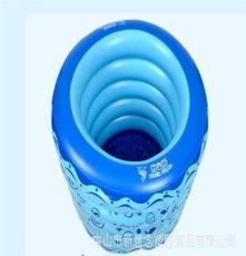 厂家直销博士豚婴儿充气游泳水池 儿童游泳池 送脖圈 DD02003