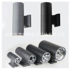 LED雙頭壁燈戶外墻壁照明亮化壁燈