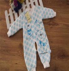 廠家直銷 嬰幼兒童裝 寶寶長袖爬服 哈衣 外出服連體衣加厚