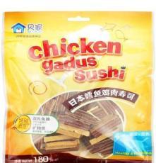 CP129021 貝家 鱈魚雞肉壽司180g 寵物零食 狗狗零食 禾仕嘉