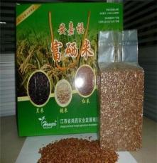 富硒有机红米,补血米,有机红米,富硒红米,血米