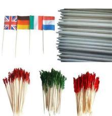 厂家批发零售 出口白桦木牙签 鸡尾签 国旗签 牙签 出口原单