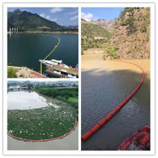 刁江攔污浮排進水口攔漂浮筒生產廠家
