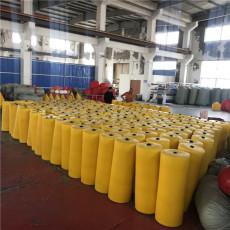 直徑0.8米管式攔污排水庫浮動式攔漂工程