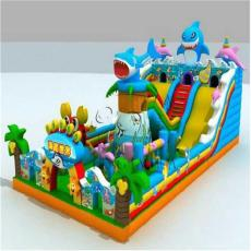 江苏室外儿童充气城堡蹦蹦床 大型游乐玩具