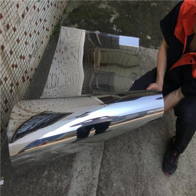 厂家生产银色PET镜 PET带胶镜 PET双面镜