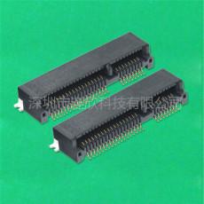 MINI PCI-E连接器厂家生产PCI座子接插件