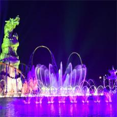 科普噴泉水舞激光秀的照明方法