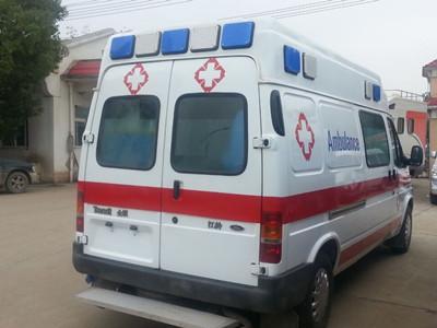 南充120救護車轉運-設施齊全