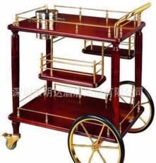 豪華古典式酒水車 酒店用品 高檔茶水車