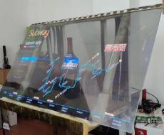 OLED透明顯示生產廠家 自發光OLED透明屏