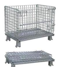 折疊式倉儲籠、金屬倉庫籠、中山鐵籠、廣東倉儲籠