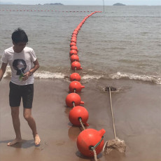 水域划分塑料浮球海上灯浮标造价