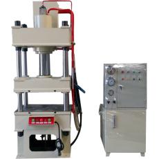 廠家直銷單臂液壓機 100噸四柱油壓機