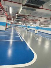 專業環氧地坪漆施工自流平地板漆金鋼砂地坪