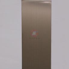 高比香檳金不銹鋼發紋總代銷 電梯裝飾材料