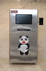 太原市捷德餐廳刷二維碼自助取餐盤機