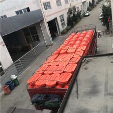 绥中电厂进水口拦漂索浮筒式拦污排安装