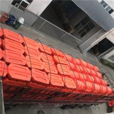 不褪色塑胶拦污漂圆柱体浮桶制造商