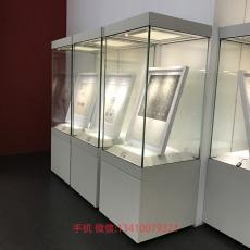 恒溫恒濕博物館展柜廠家書畫恒濕展示柜