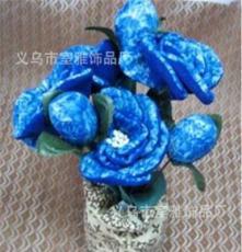 厂家直销竹炭瓶子花净化空气,竹炭包除臭包环保蓝色妖姬花海世界