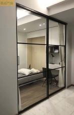墨高门窗供应现代简约极简窄边框推拉门