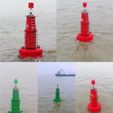 海上深水浮標紅色聚乙烯航標產地貨源