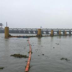 電站庫區垃圾攔截浮桶浮式攔阻索價格