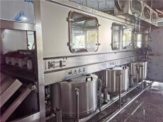 全自动桶装纯净水灌装机生产线设备