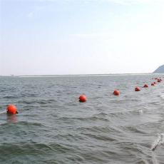 帶反光效果塑料浮球水庫警示浮漂尺寸