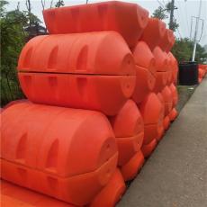 白龜山水庫塑料袋攔截浮筒浮式阻截設施