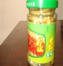 大量的优质的食用瓶装金针菇