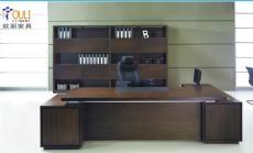 大班台办公家具老板桌办公桌定做选广州欧丽