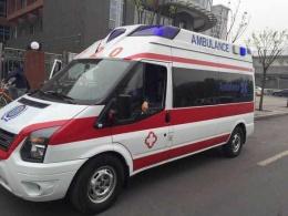 岳陽120救護車轉運立刻出發