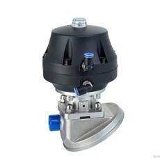 304 316L重慶不銹鋼氣動罐底隔膜閥 耐腐蝕