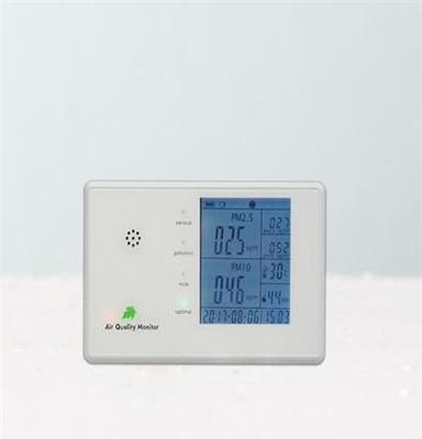 带日期时间多功能空气质量检测仪 pm2.5 pm10 粉尘甲醛监测表