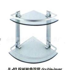 廠家生產批發優質鋁板轉角雙層置物架