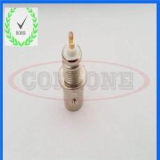 高品質全銅BNC母頭焊線式視頻接頭