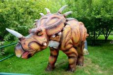 专业生产一手仿真恐龙模型玻璃钢雕塑厂家