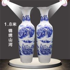 成都陶瓷大花瓶   落地花瓶  成都开业庆典