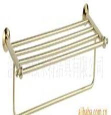 新品 歐米特金色系列 浴巾架 毛巾架