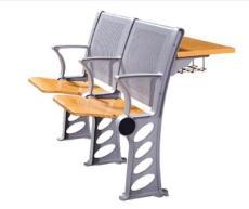 廣東課桌椅批發廠家,課桌椅圖片,培訓椅帶寫字板