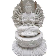 定制石雕地藏王 漢白玉觀音佛像寺院廟宇