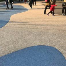 廠家直銷透水混凝土地坪路面強固透水砼