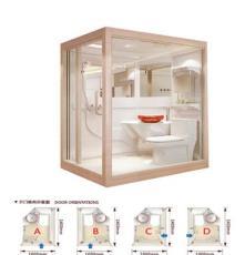 那波利欧式整体浴室 整体卫浴 酒店淋浴房 整体卫生间 厂家直销