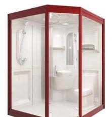 销售那波利整体浴室与传统卫生 间相比成本节约30%
