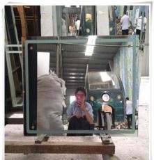 河北厂家加工玻璃切割  带灯镜子原片 玻璃镜子喷砂磨边加工