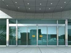 西青区玻璃门维修,更换地弹簧,中空玻璃门厂
