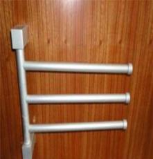 宁波卫浴厂家 供应三杆四杆太空铝毛巾架